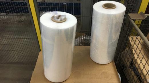 Spin wrap plastics