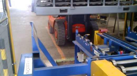 Forklift racking