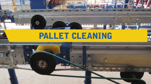 Pallet cleaning