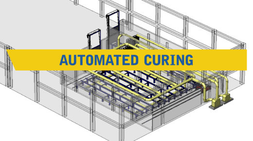Automated curing