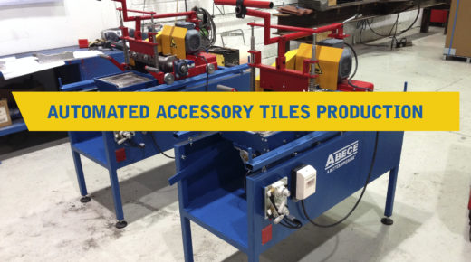 Automated accesory tiles production